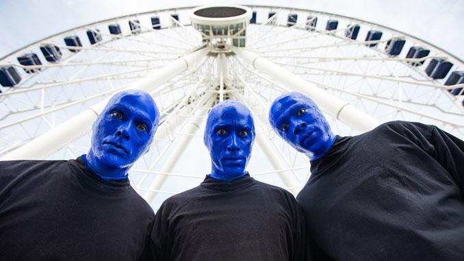 Участники группы на Navy Pier. Фото - Джастин Барбин