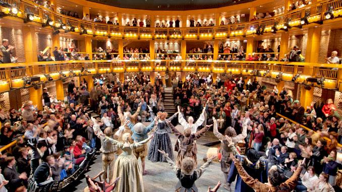 Чикагский шекспировский театр. Сцена из спектакля. Фото - Джеймс Стайнкэмп