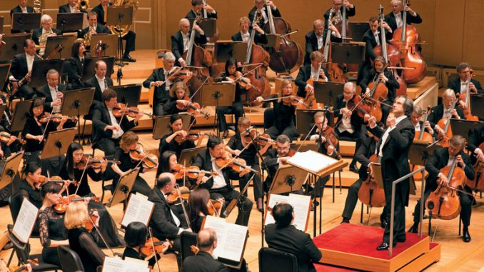 Чикагский симфонический оркестр. Фото - Тодд Розенберг